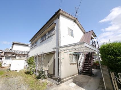 福岡県古賀市、古賀駅徒歩16分の築39年 2階建の賃貸アパート