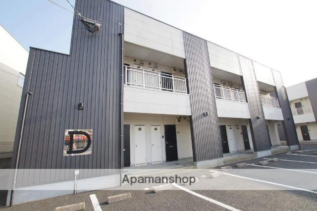 福岡県直方市、遠賀野駅徒歩17分の築12年 2階建の賃貸アパート
