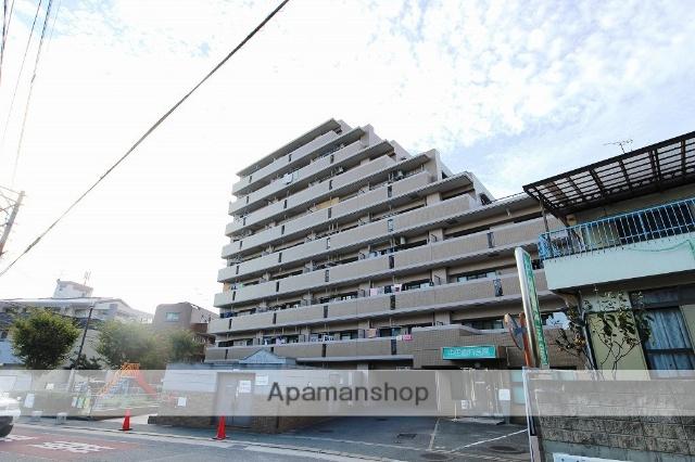 福岡県福岡市東区、香椎駅徒歩13分の築22年 9階建の賃貸マンション