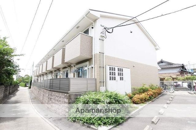 福岡県福岡市東区、舞松原駅徒歩24分の築7年 2階建の賃貸アパート