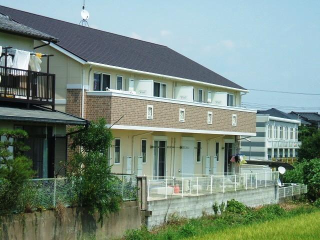 福岡県小郡市、西鉄小郡駅徒歩12分の築10年 2階建の賃貸アパート