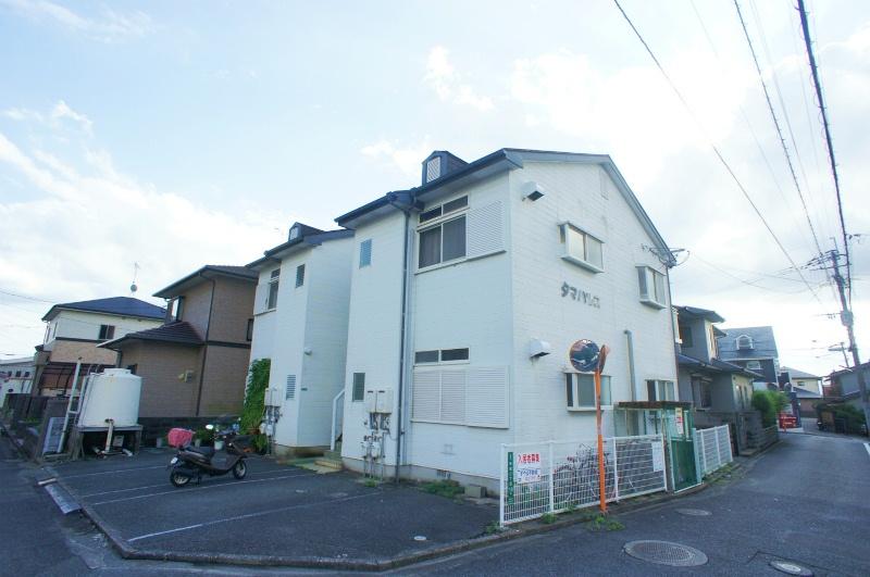 福岡県太宰府市、二日市駅徒歩12分の築26年 2階建の賃貸アパート