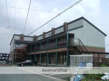 福岡県朝倉市、甘木駅徒歩26分の築23年 2階建の賃貸アパート
