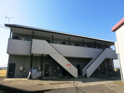 福岡県朝倉市、馬田駅徒歩22分の築23年 2階建の賃貸アパート