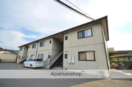 福岡県太宰府市、西鉄二日市駅徒歩25分の築18年 2階建の賃貸アパート