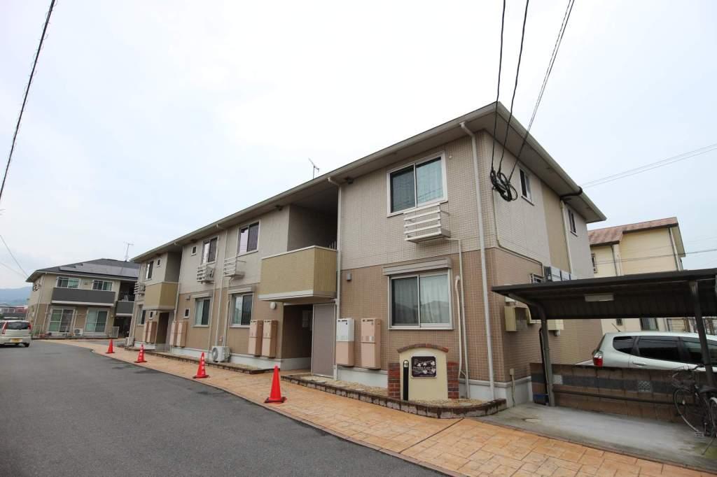 福岡県朝倉市、馬田駅徒歩28分の築6年 2階建の賃貸アパート