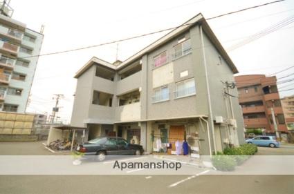 福岡県太宰府市、西鉄二日市駅徒歩21分の築43年 3階建の賃貸マンション