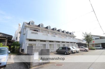 佐賀県三養基郡基山町、けやき台駅徒歩24分の築23年 2階建の賃貸アパート
