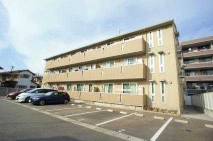 福岡県筑紫野市、二日市駅徒歩8分の築5年 3階建の賃貸アパート