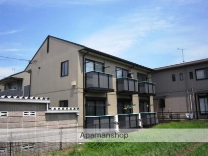 福岡県太宰府市、都府楼南駅徒歩14分の築18年 2階建の賃貸アパート