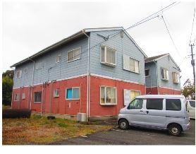福岡県小郡市、大保駅徒歩21分の築22年 2階建の賃貸アパート