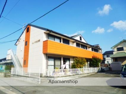 福岡県朝倉市、甘木駅徒歩24分の築18年 2階建の賃貸アパート