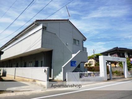 福岡県太宰府市、西鉄二日市駅徒歩26分の築21年 2階建の賃貸アパート