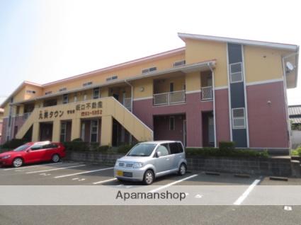 佐賀県三養基郡基山町、基山駅徒歩16分の築24年 2階建の賃貸アパート