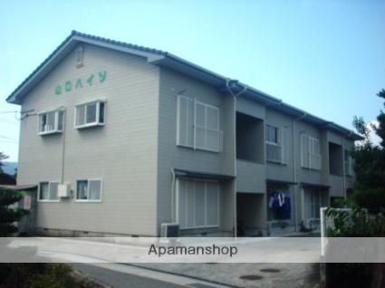 佐賀県三養基郡基山町、弥生が丘駅徒歩25分の築23年 2階建の賃貸アパート