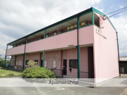 福岡県三井郡大刀洗町、大堰駅徒歩23分の築23年 2階建の賃貸アパート