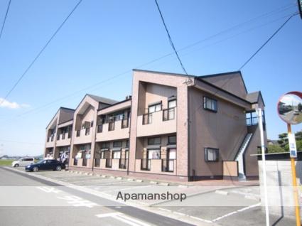 福岡県朝倉郡筑前町、筑前山家駅徒歩60分の築19年 2階建の賃貸アパート