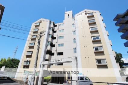福岡県筑紫野市、二日市駅徒歩25分の築29年 7階建の賃貸マンション