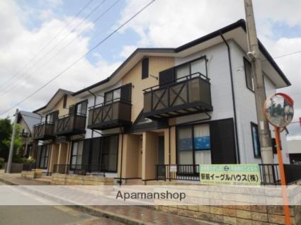 福岡県朝倉郡筑前町、山隈駅徒歩16分の築17年 2階建の賃貸アパート