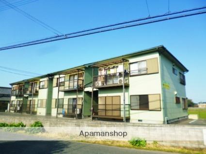 福岡県朝倉市、上浦駅徒歩11分の築20年 2階建の賃貸アパート
