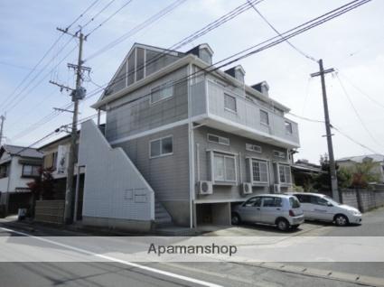 福岡県朝倉市、甘木駅徒歩24分の築22年 2階建の賃貸アパート