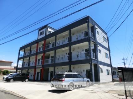 佐賀県鳥栖市、新鳥栖駅徒歩22分の築25年 3階建の賃貸アパート