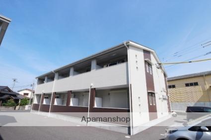 福岡県朝倉市、馬田駅徒歩23分の築3年 2階建の賃貸アパート