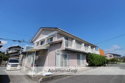 福岡県朝倉市、甘木駅徒歩25分の築27年 2階建の賃貸アパート