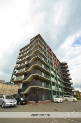 福岡県筑紫野市、二日市駅徒歩23分の築16年 8階建の賃貸マンション