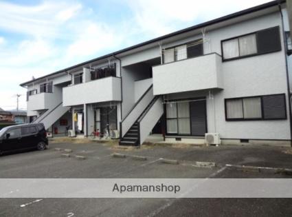 福岡県朝倉郡筑前町、甘木駅徒歩30分の築20年 2階建の賃貸アパート