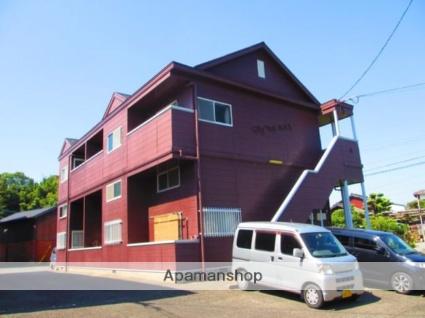 福岡県小郡市、津古駅徒歩3分の築25年 2階建の賃貸アパート