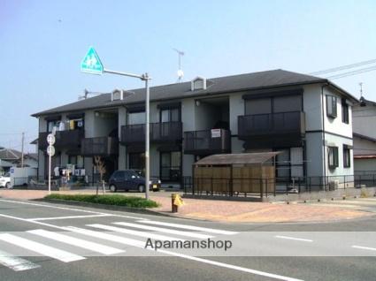 福岡県小郡市、三国が丘駅徒歩24分の築18年 2階建の賃貸アパート