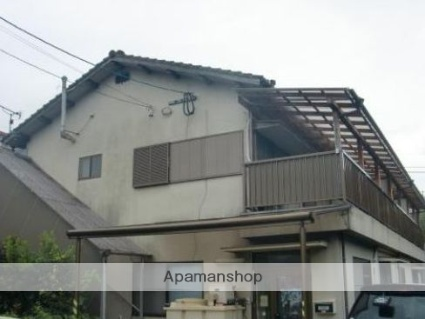 福岡県朝倉市、甘木駅徒歩15分の築47年 2階建の賃貸アパート
