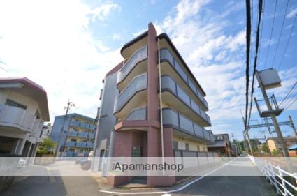 福岡県筑紫野市、天拝山駅徒歩10分の築24年 4階建の賃貸マンション