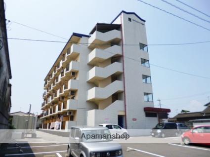 福岡県朝倉市、甘木駅徒歩10分の築25年 5階建の賃貸マンション