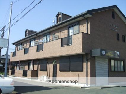 福岡県朝倉市、甘木駅徒歩19分の築15年 2階建の賃貸アパート