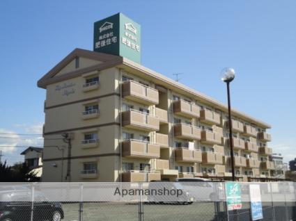 福岡県小郡市、西鉄小郡駅徒歩12分の築27年 4階建の賃貸マンション