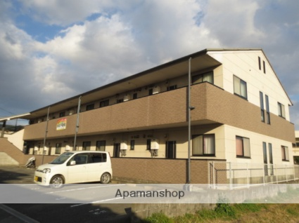 福岡県久留米市、大城駅徒歩8分の築19年 2階建の賃貸アパート