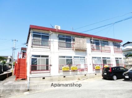福岡県小郡市、けやき台駅徒歩17分の築40年 2階建の賃貸アパート