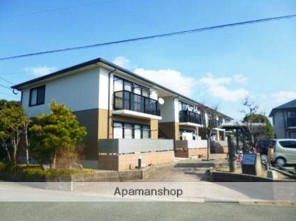 福岡県朝倉市、甘木駅徒歩16分の築18年 2階建の賃貸アパート