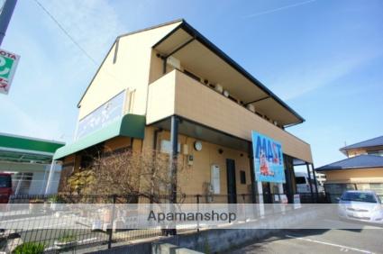 福岡県筑紫野市、原田駅徒歩2分の築17年 2階建の賃貸アパート