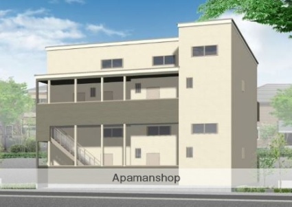 福岡県筑紫野市、二日市駅徒歩10分の新築 2階建の賃貸アパート