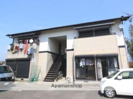 福岡県朝倉郡筑前町、甘木駅徒歩30分の築15年 2階建の賃貸アパート