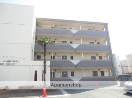 福岡県久留米市、宮の陣駅徒歩7分の築20年 4階建の賃貸マンション