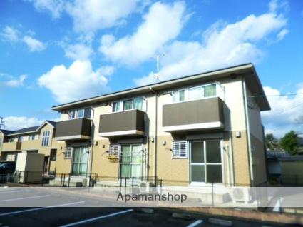 福岡県朝倉市、甘木駅徒歩16分の築7年 2階建の賃貸アパート