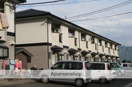 福岡県久留米市、北野駅徒歩8分の築23年 2階建の賃貸テラスハウス