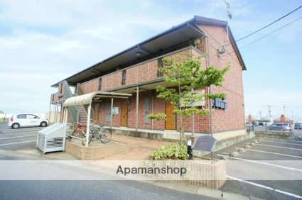 佐賀県三養基郡みやき町、中原駅徒歩50分の築13年 2階建の賃貸アパート