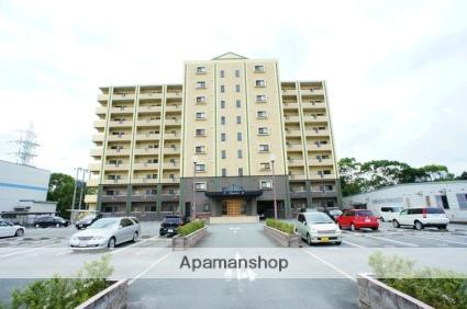 佐賀県鳥栖市、田代駅徒歩20分の築11年 9階建の賃貸マンション