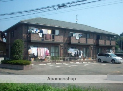 佐賀県三養基郡基山町、けやき台駅徒歩15分の築14年 2階建の賃貸アパート