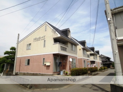 佐賀県鳥栖市、弥生が丘駅徒歩26分の築30年 2階建の賃貸アパート
